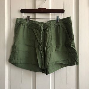 J. Crew Linen Shorts (2 pairs included)